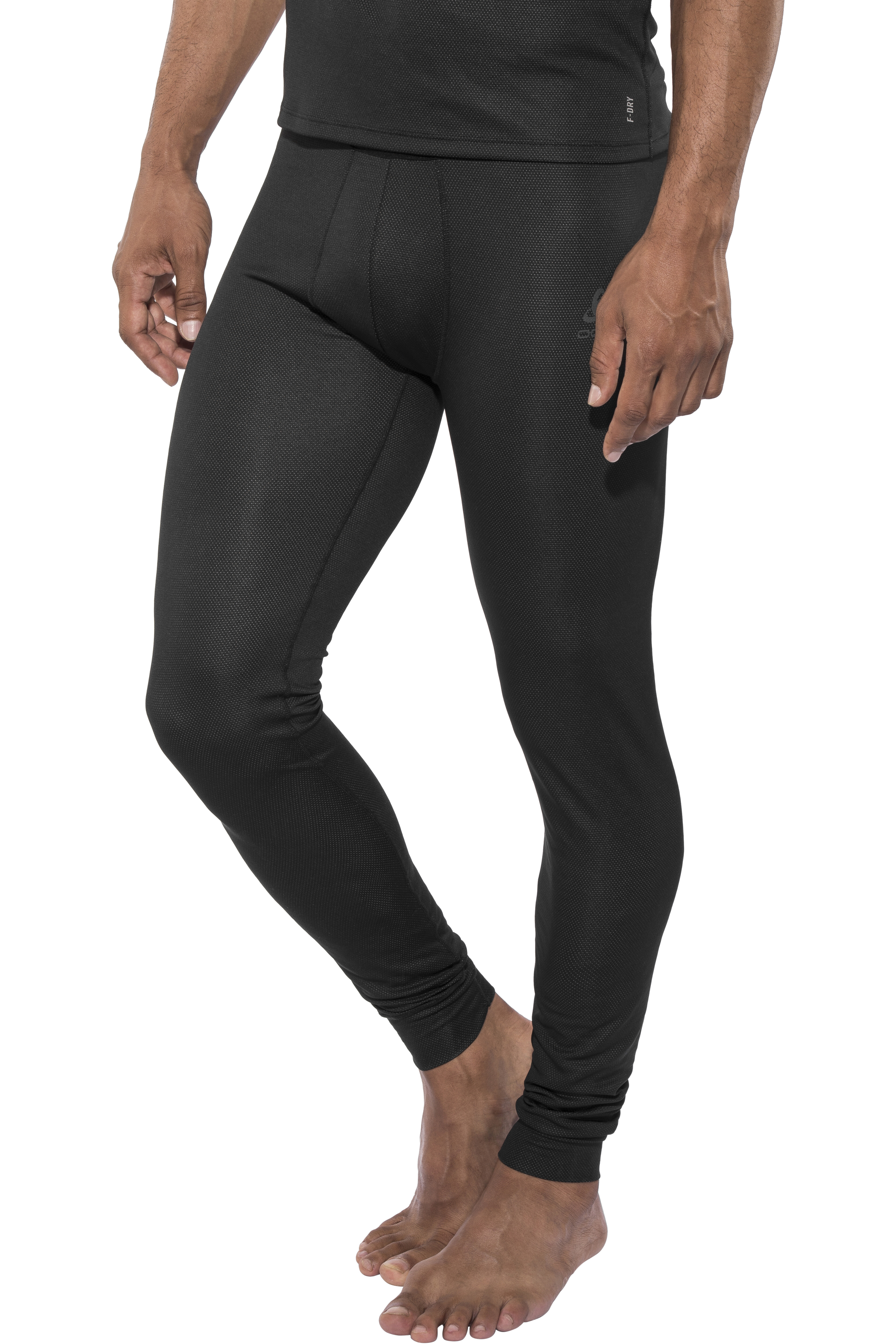 6caeeeaae5 Odlo Suw Active F-Dry Light Bottom Pants Herren black | campz.de